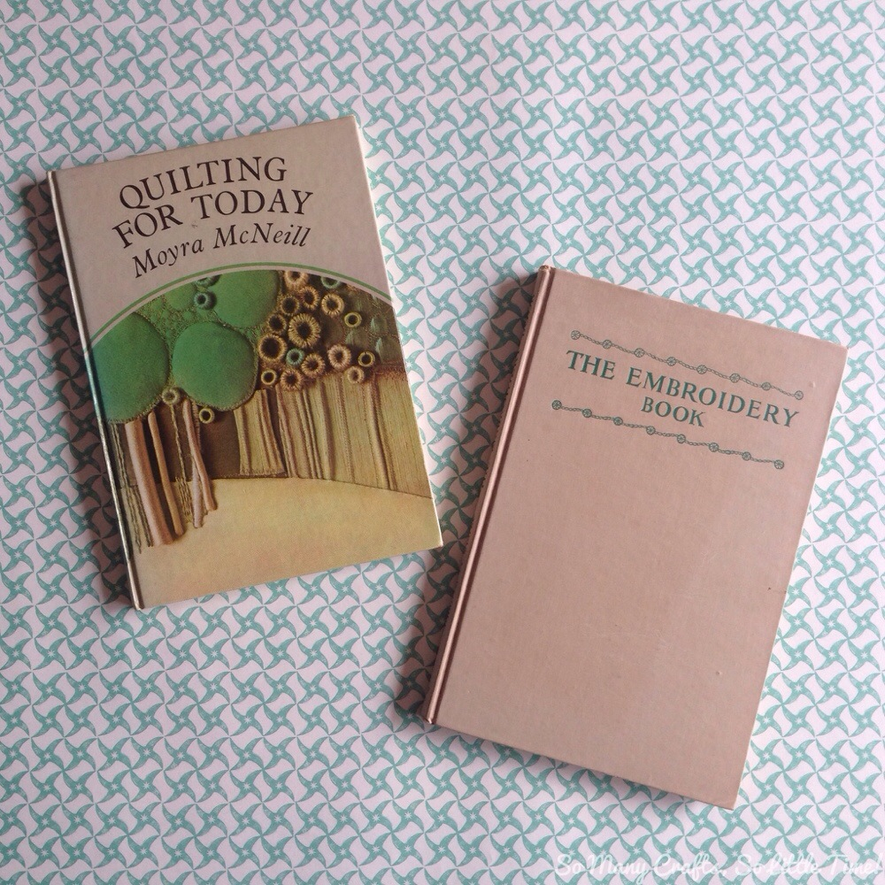 Vintage craft books