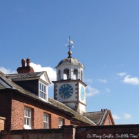 Clumber Park clock tower