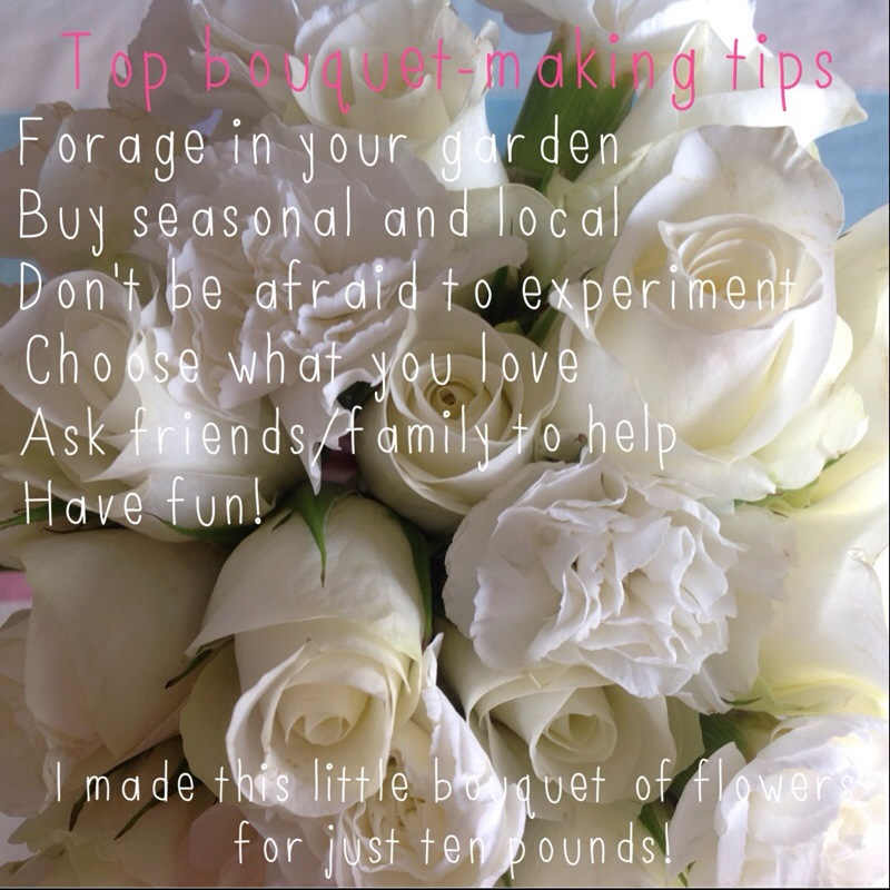 Bouquet-making tips