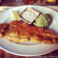 The biggest fish and chips EVER!