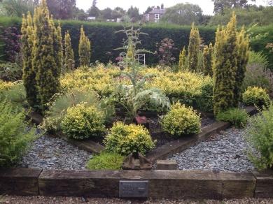 Bowes railway garden